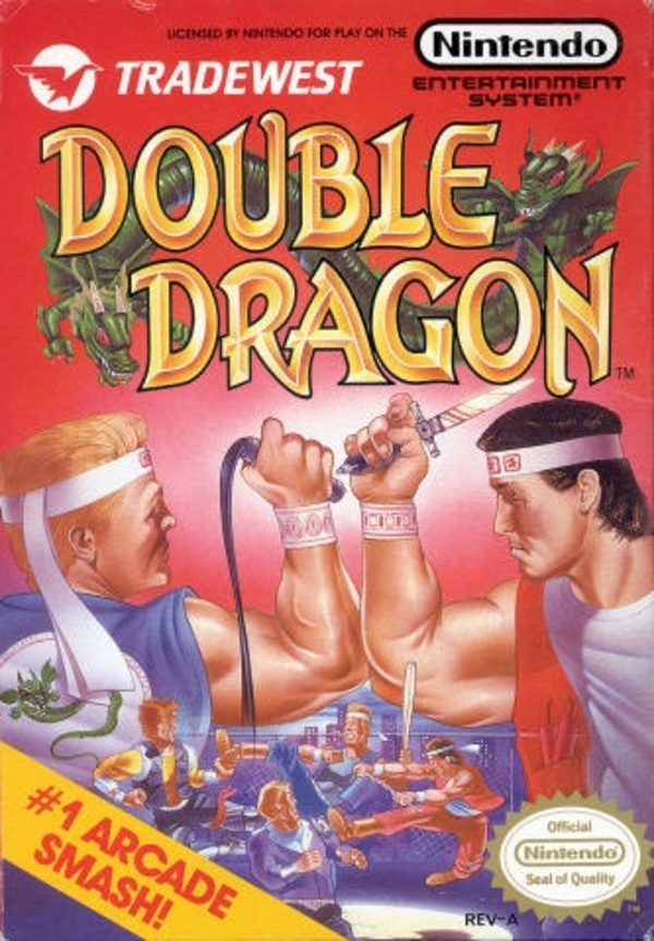 Cover zu Double Dragon