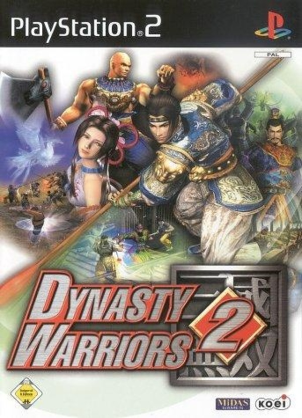 Cover zu Dynasty Warriors 2