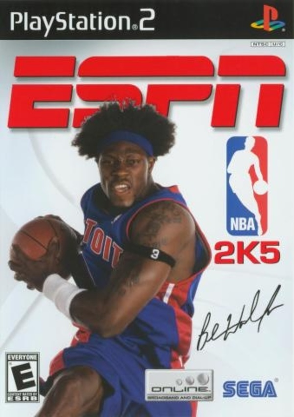 Cover zu ESPN NBA 2K5
