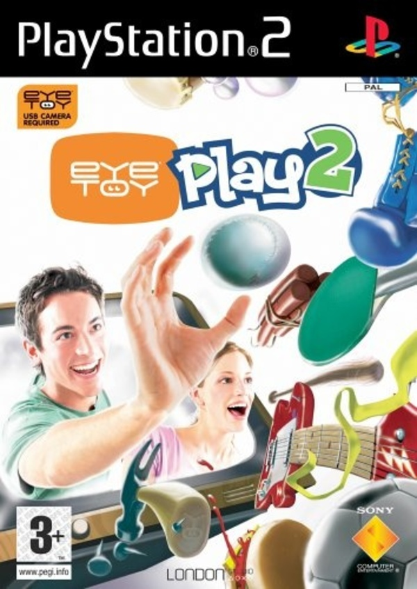 Cover zu Eye Toy Play 2