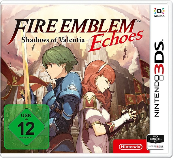 Cover zu Fire Emblem Echoes: Shadows of Valentia