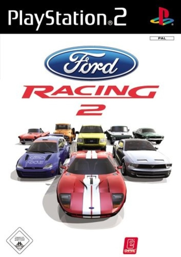 Cover zu Ford Racing 2