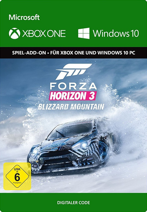 Cover zu Forza Horizon 3: Blizzard Mountain
