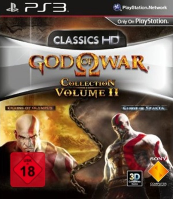 Cover zu God of War Collection Volume 2