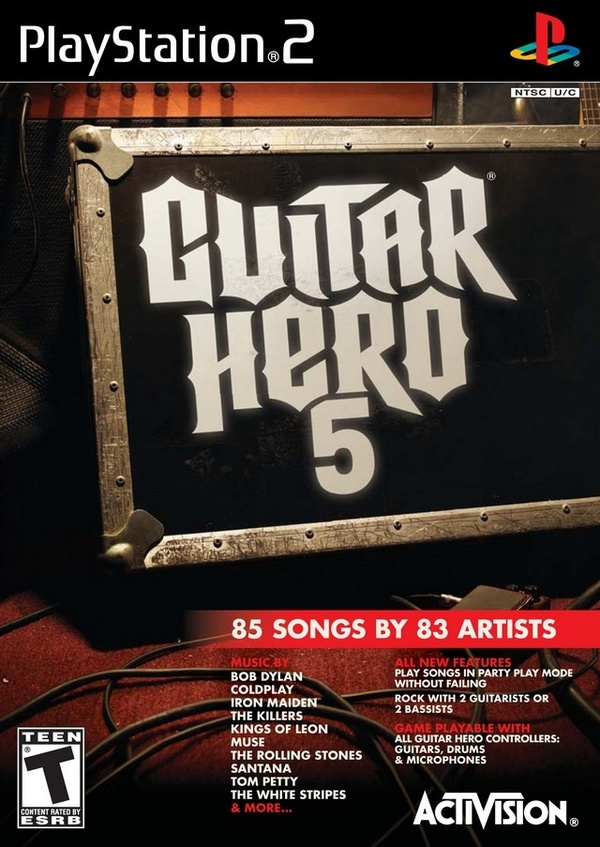 Cover zu Guitar Hero 5