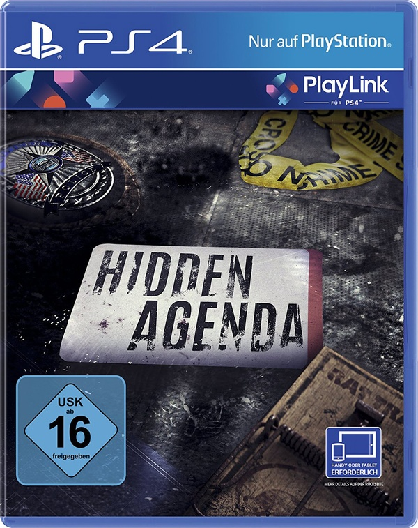 Cover zu Hidden Agenda