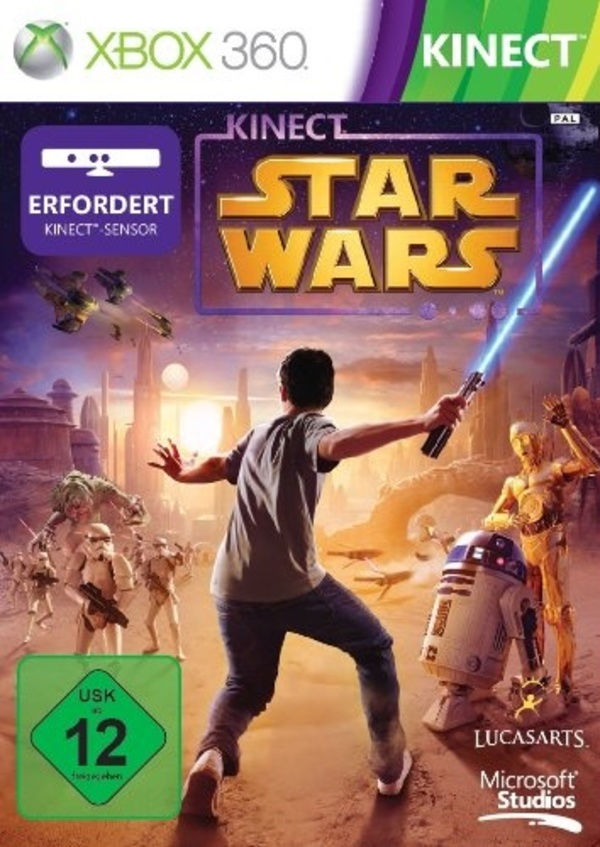 Cover zu Kinect Star Wars