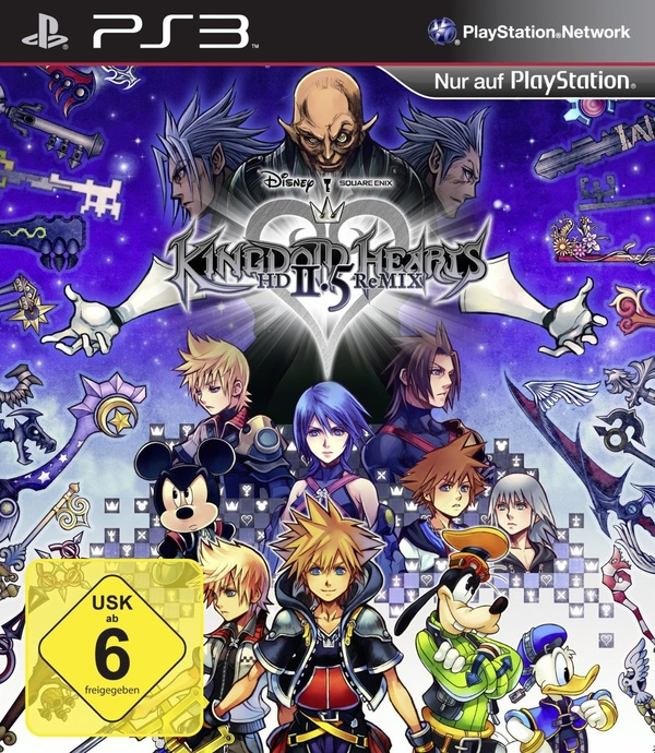 Cover zu Kingdom Hearts HD 2.5 ReMIX