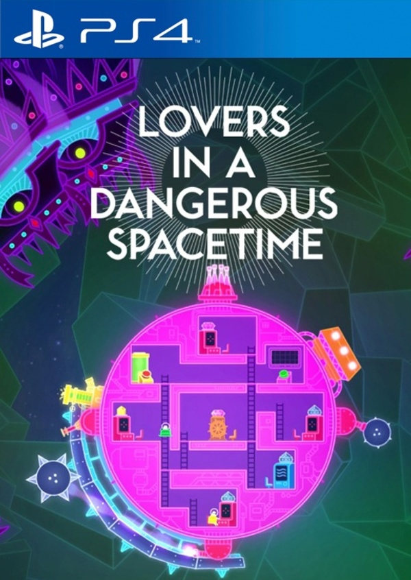 Cover zu Lovers in a Dangerous Spacetime