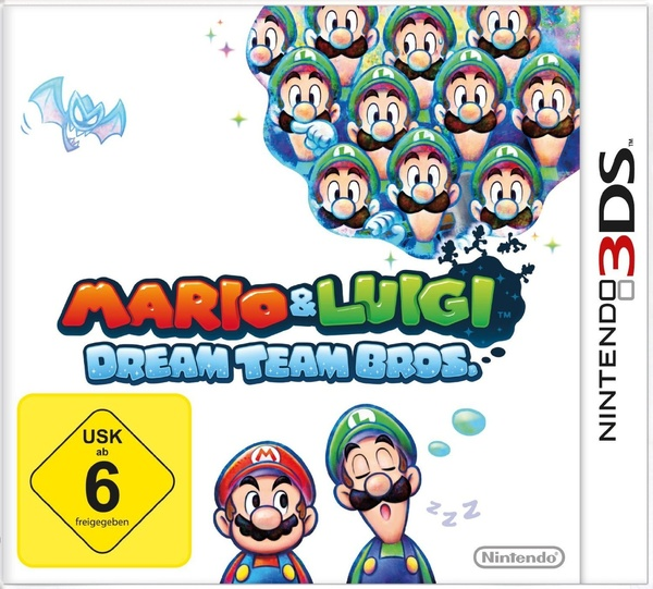 Cover zu Mario & Luigi: Dream Team Bros.