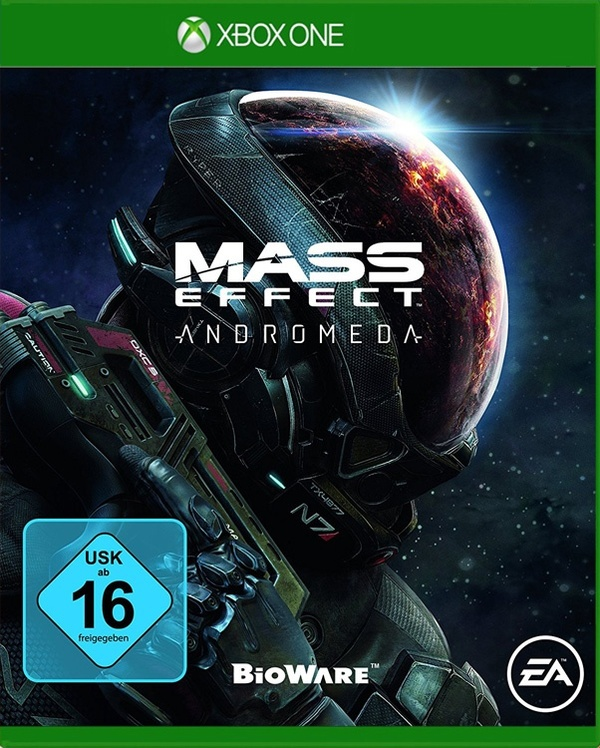 Cover zu Mass Effect: Andromeda