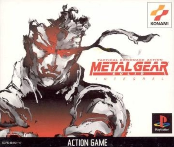 Cover zu Metal Gear Solid Integral