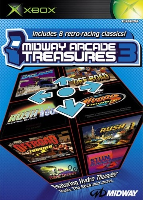 Cover zu Midway Arcade Treasures 3