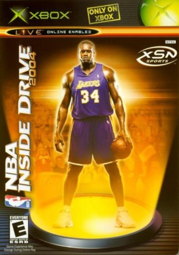 Cover zu NBA Inside Drive 2004
