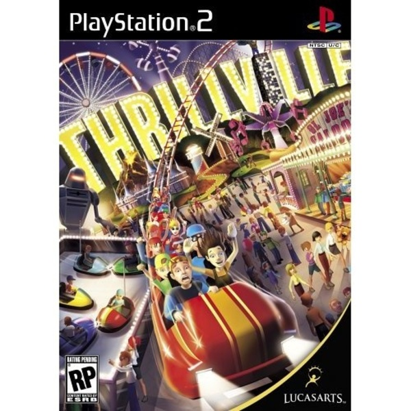 Cover zu Thrillville
