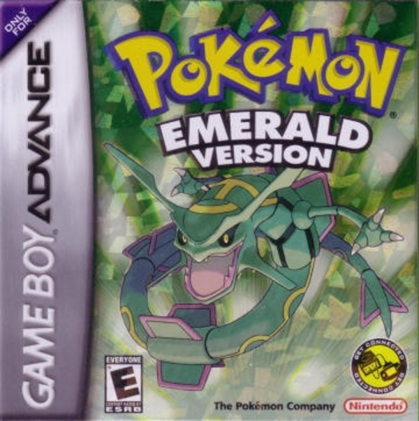 Cover zu Pokémon Emerald