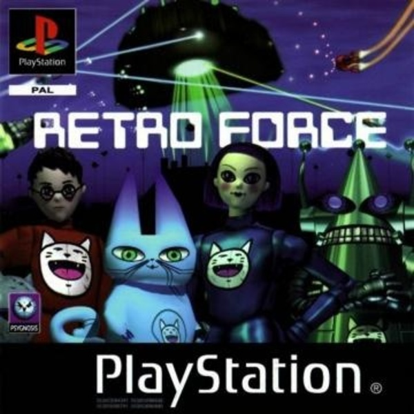 Cover zu Retro Force