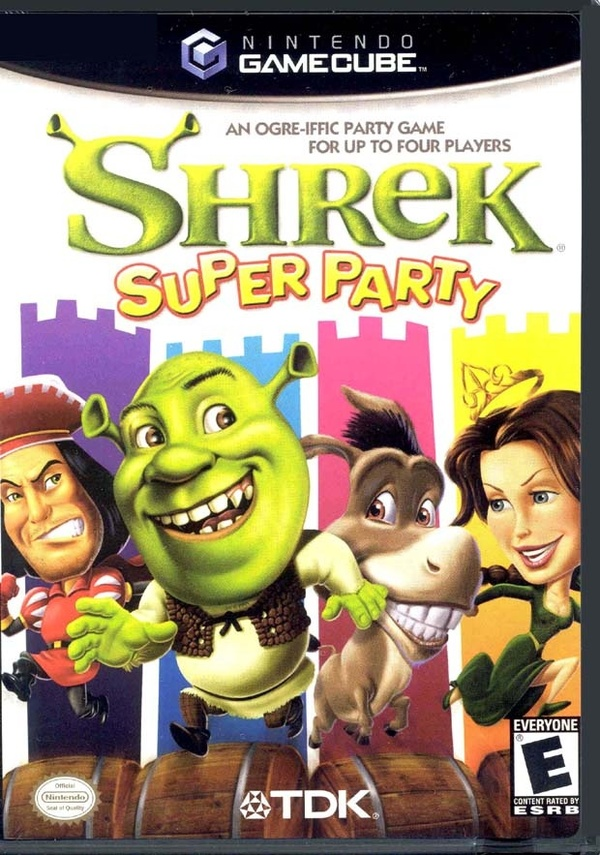 Cover zu Shrek Super Party