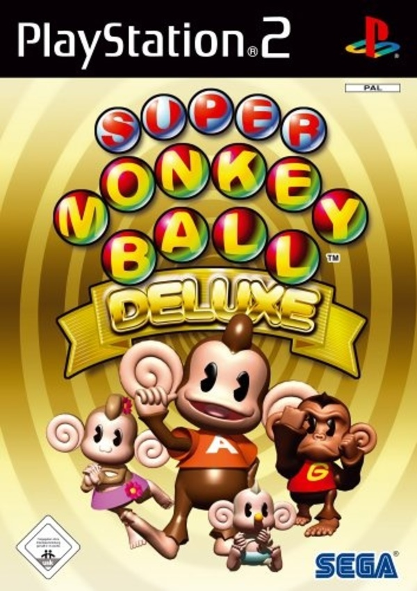 Cover zu Super Monkey Ball Deluxe