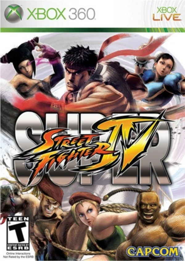 Cover zu Super Street Fighter IV