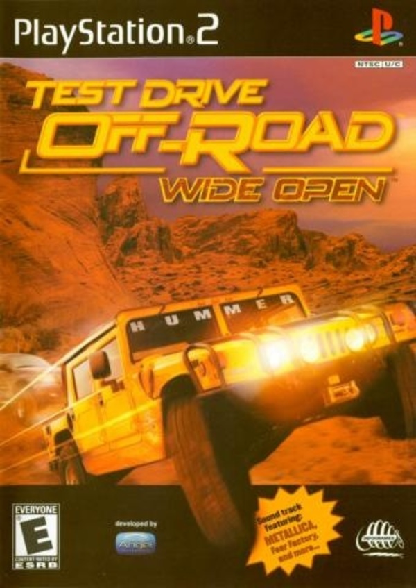 Cover zu Test Drive: Off-Road: Wide Open