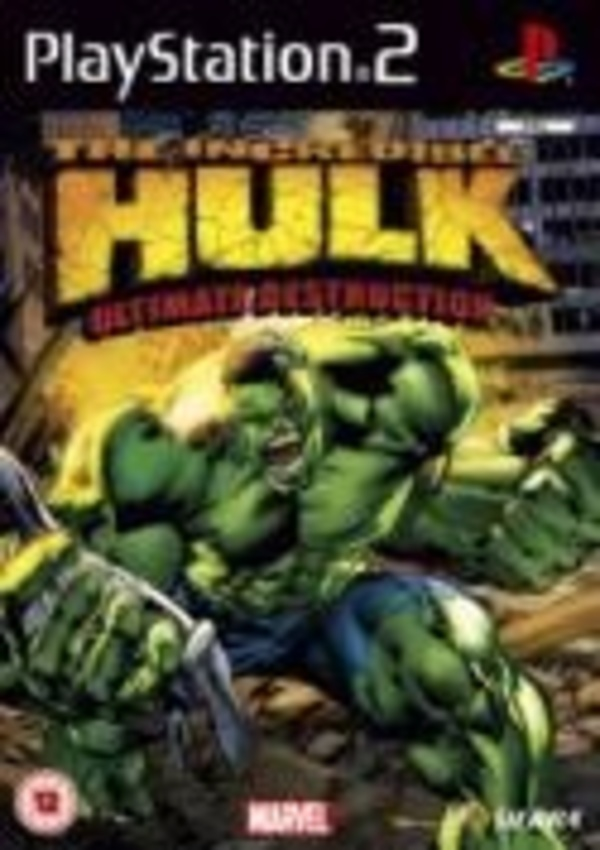 Cover zu The Incredible Hulk: Ultimate Destruction