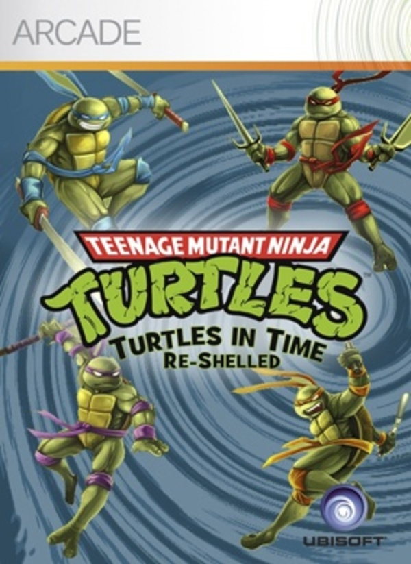 Cover zu Turtles in Time: Re-Shelled