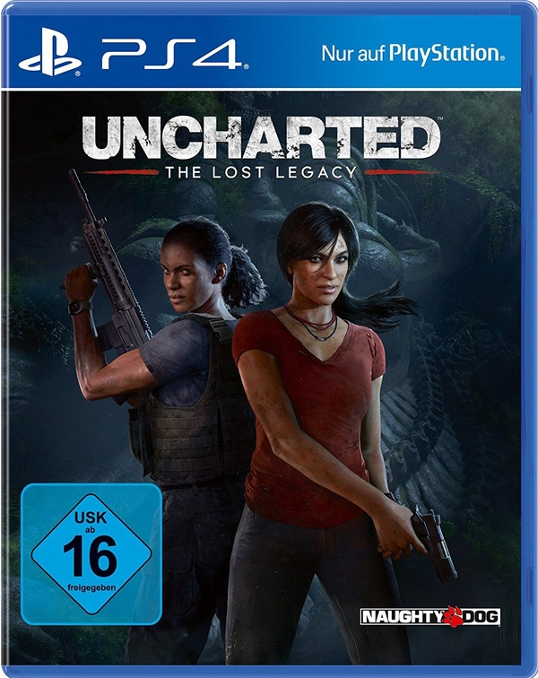 Cover zu Uncharted: The Lost Legacy