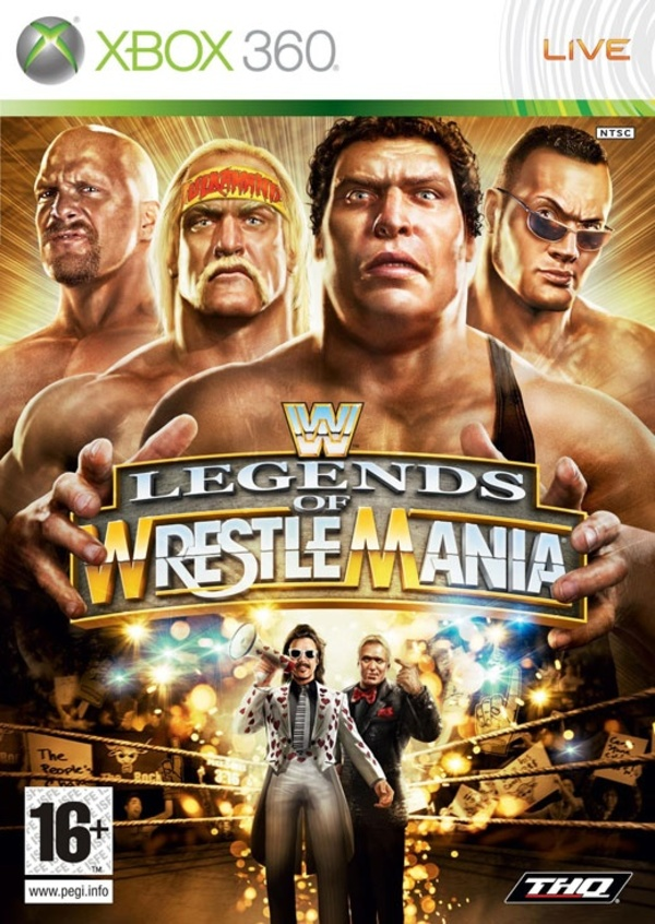 Cover zu WWE Legends of WrestleMania