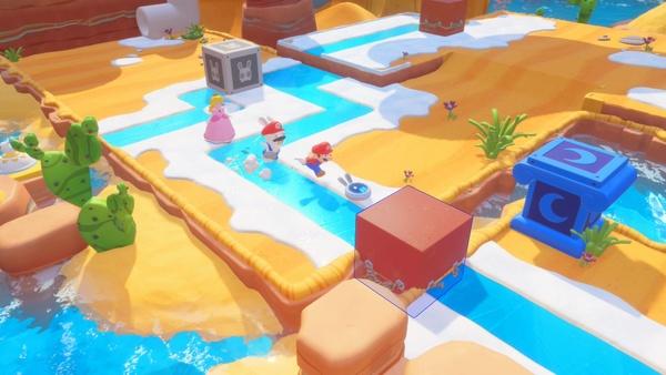 Screenshot zu Mario + Rabbids: Kingdom Battle (Nintendo Switch) - Screenshots