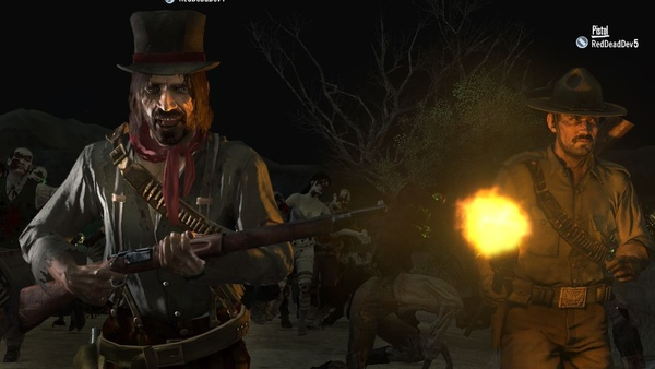 Screenshot zu Red Dead Redemption (PS3) - Screenshots aus dem DLC »Undead Nightmare«