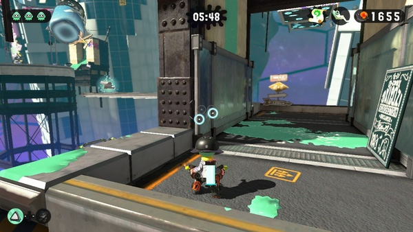 Screenshot zu Splatoon 2 (Nintendo Switch) - Fundorte aller Schriftrollen im Heldenmodus