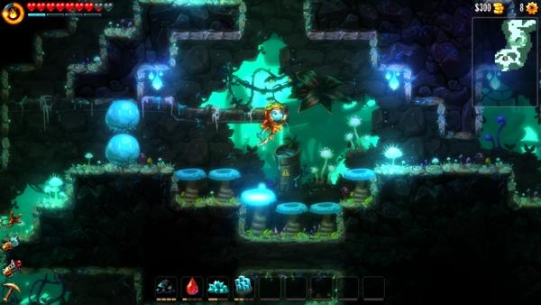 Screenshot zu Steamworld Dig 2 (PS4) - Screenshots