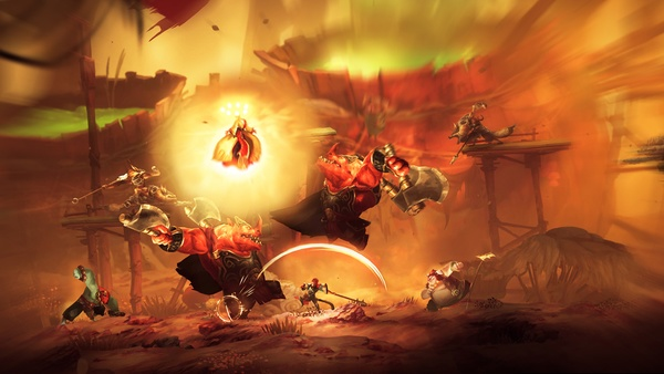 Screenshot zu Unruly Heroes (Nintendo Switch) - Screenshots
