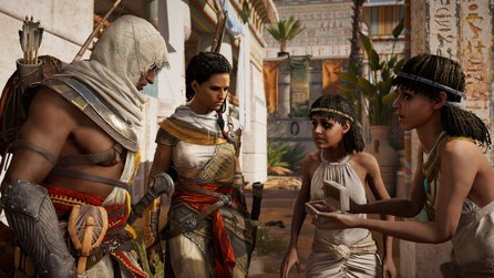 Assassin's Creed: Origins - Spieler kritisieren Gesichtsanimationen, Director reagiert