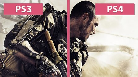 Call of Duty: Advanced Warfare - PS3 gegen PS4 im Grafikvergleich