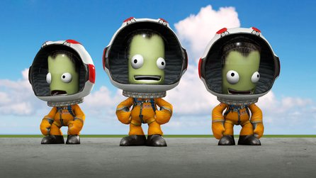Kerbal Space Program im Test - Der harte Weg ins All