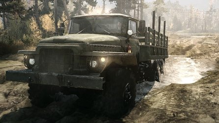 Spintires: MudRunner - Gameplay-Trailer: Mit den Trucks endlich zurück in den Dreck