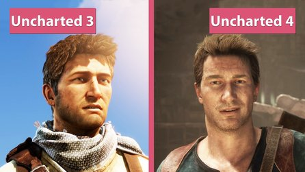 Uncharted 4: A Thief's End - Uncharted 4 gegen Uncharted 3 im Grafik-Vergleich