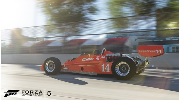 Forza Motorsport 5 - Long Beach Booster-Pack / 1977 Ford Coyote Gilmore77