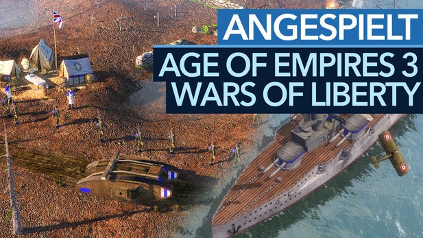 Age of Empires 3: Wars of Liberty - Ein Vorbild für Age of Empires 4