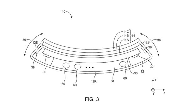 Apple hat ein Patent auf flexible Smartphones.