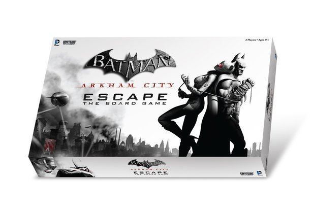 Die Box des Brettspiels Batman: Arkham City Escape