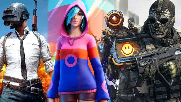 PUBG, Fortnite, Apex e Warzone: Todos eles têm suas próprias forças e esclarecemos qual atirador de Battle Royale se adapta ao seu estilo de jogo.