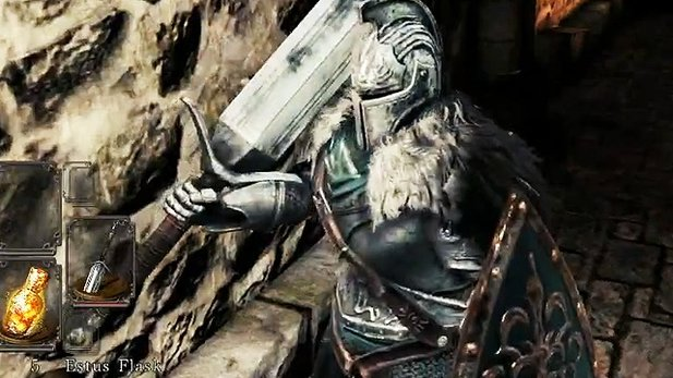 Dark Souls 2 - Gameplay-Clip: Der Krieger