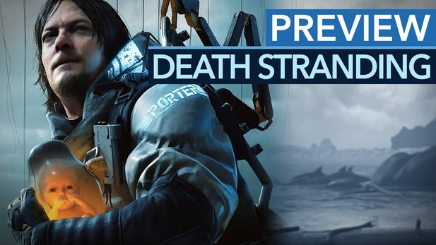 Death Stranding - Preview-Video: Der neue Kojima-Wahnsinn