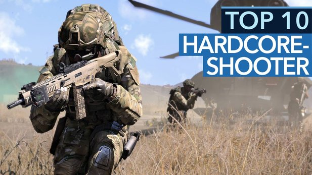 Top 10 Hardcore-Shooter - Video: Was ist Ihr aktueller Favorit 2016/2017?