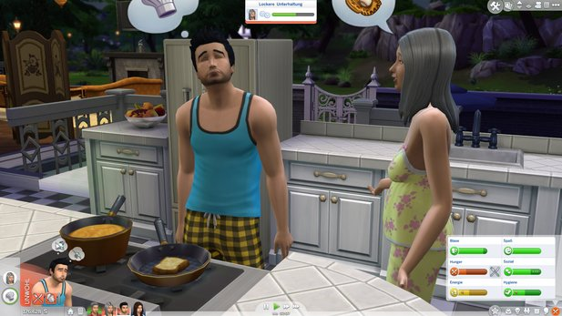 Neu in Die Sims 4: Emotionen und Multitasking.