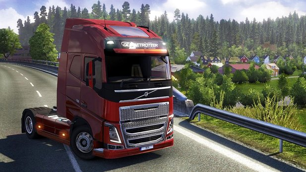 Euro Truck Simulator 2: Scandinavia - Test-Video zum Skandinavien-Addon