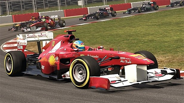 Test-Video von F1 2011